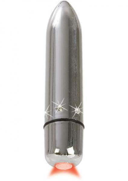 Crystal High Intensity Bullet Waterproof Silver