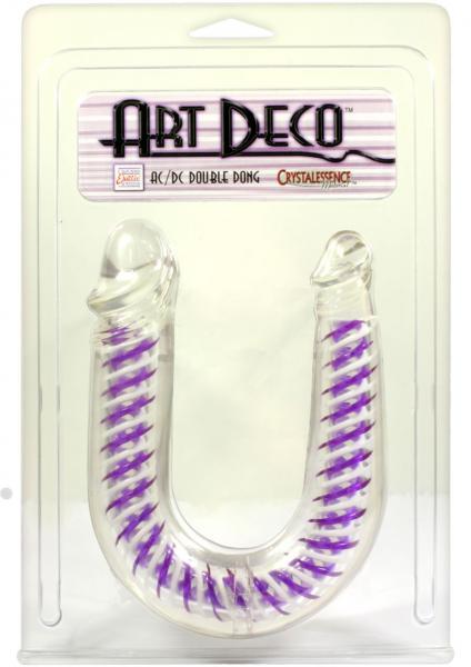 Art Deco U-Shaped Dual Penetrating Dong