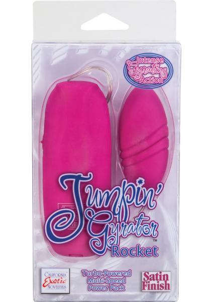 Jumpin Gyrator Rocket Pink Egg Vibrator