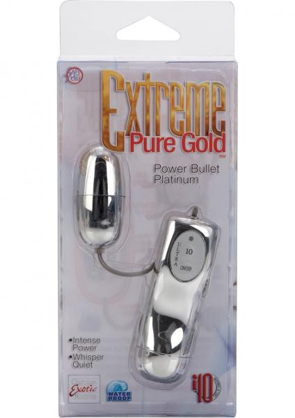 Extreme Pure Gold Power Bullet Waterproof 2 Inch Platinum