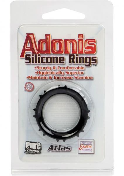 Adonis Silicone Rings Atlas Black