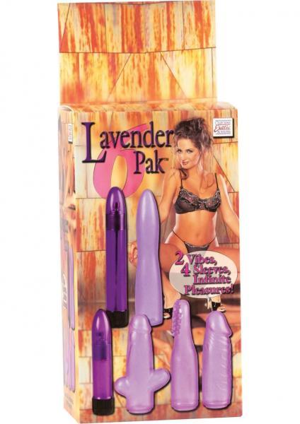 Lavender 6 Pack 2 Vibes 4 Sleeves - Purple