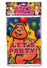 Lets Party Happy Penis Table Cloth Rectangle Sex Toy Product
