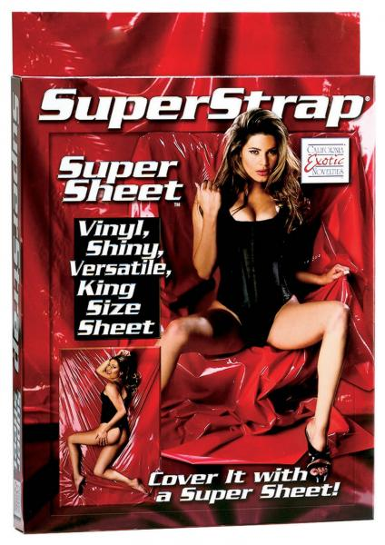 Super Strap Super Sheet King Size Red
