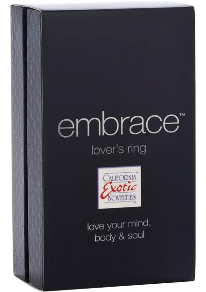 Embrace Lovers Ring Silicone Cockring Waterproof Pink