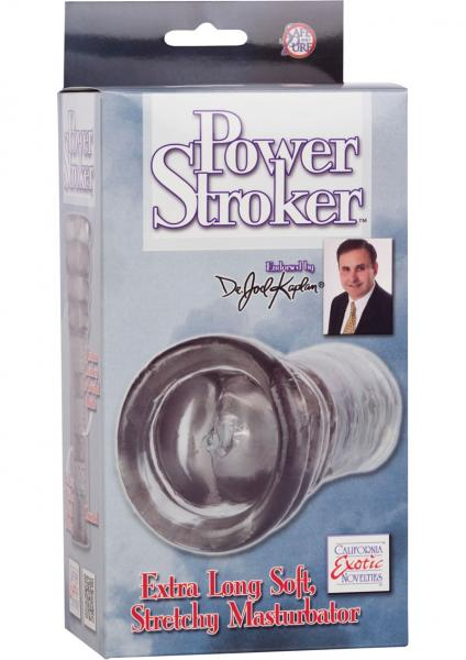 Dr Joel Kaplan Power Stroker Masturbator Clear