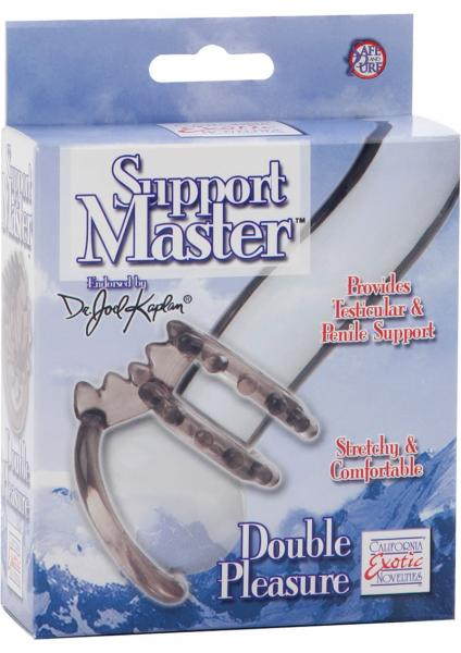 Dr Joel Kaplan Support Master Double Pleasure Cock Ring Smoke