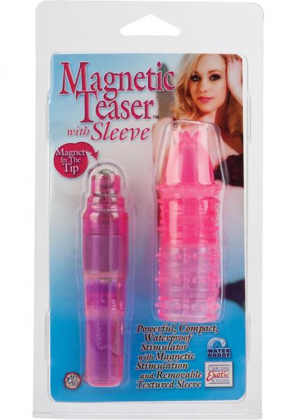 Magnetic Teaser With Sleeve Pocket Rocket Pink
