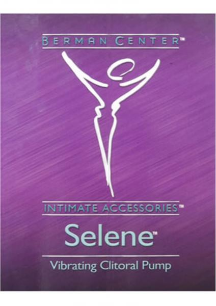 Berman Center Intimate Accessories Selene Vibrating Clitoral Pump Pink
