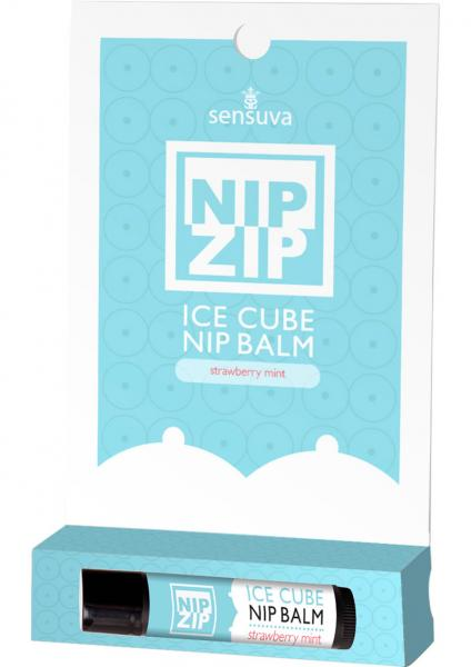 Nip Zip Ice Cube Nip Balm Strawberry Mint