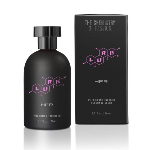 Lure Black Label For Her Pheromone 2.5 fluid ounces