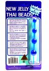 NEW JELLY THAI BEADS BLUE Sex Toy Product