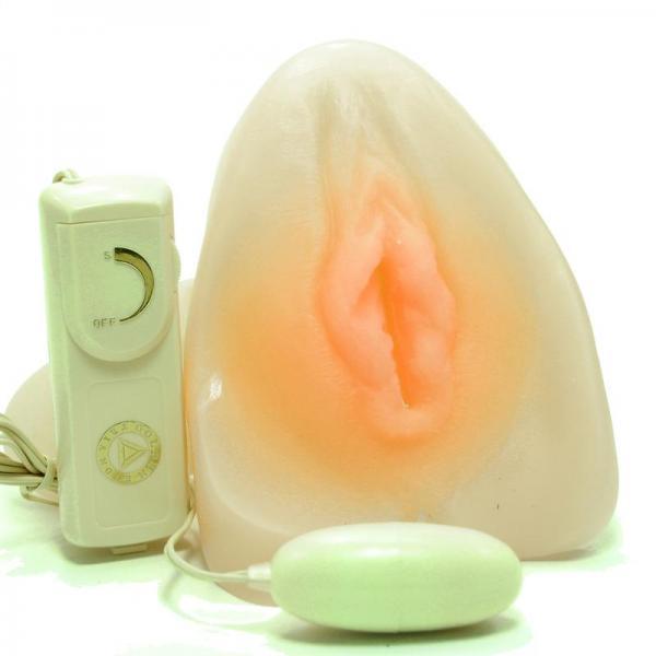 The Clone Vibrating Vagina Beige