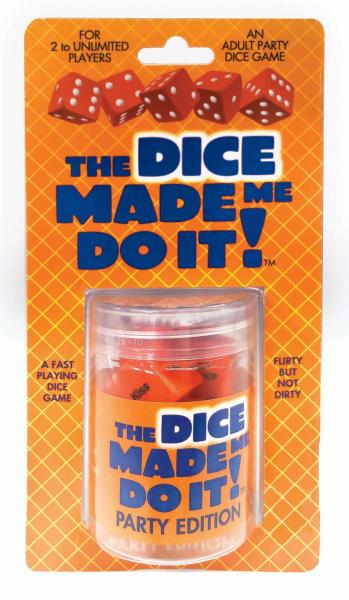 The Dice Made Me Do It Party
