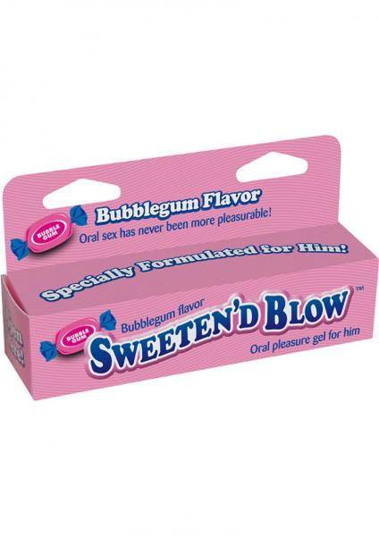 Sweeten D Blow Oral Pleasure Gel Bubble Gum 1.5 oz