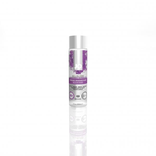 JO Massage Glide 4.oz Lavender