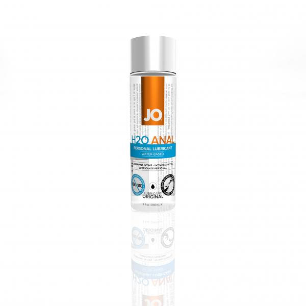 JO H2O Anal Water Based Lubricant 8 ounces