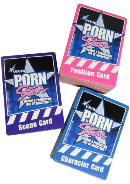 Vivid Porn Star Cards Sex Toy Product