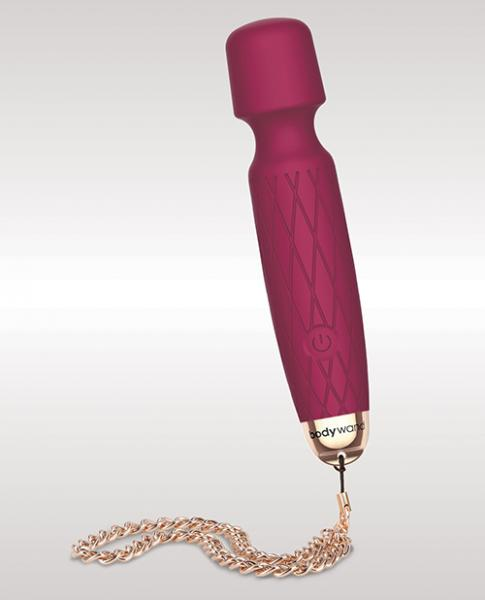 Bodywand Luxe Mini Body Massager Red