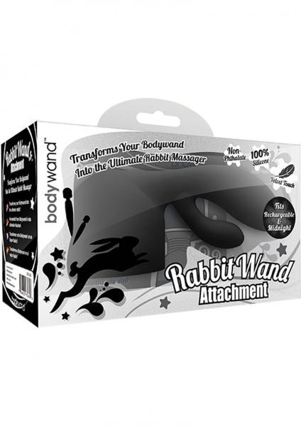 Bodywand Rabbit Wand Attachment Black