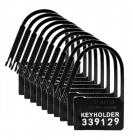 Keyholder 10 Pack Numbered Plastic Locks Sex Toy Product