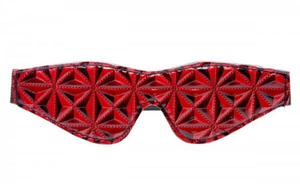 Blindfold Full Blackout O/S Red