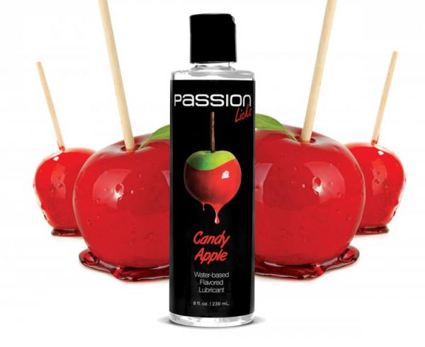Passion Licks Candy Apple Flavored Lubricant 8oz