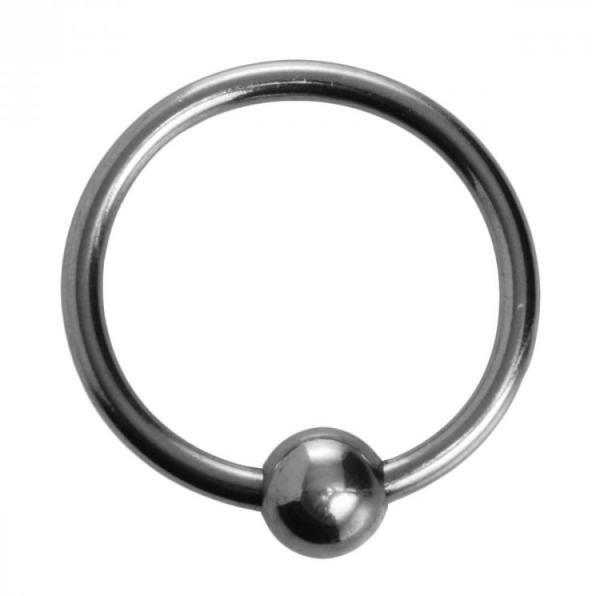 Ornata Steel Ball Head Ring