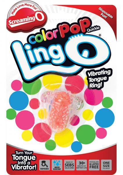 Color Pop Quickie Lingo Orange