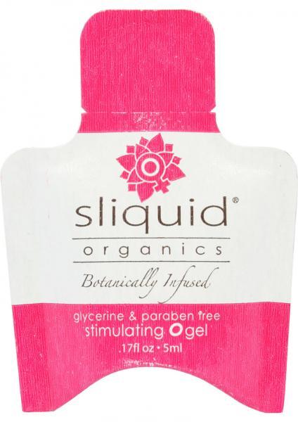 Sliquid Organics Stimulating O Gel Sampler 6 Pack