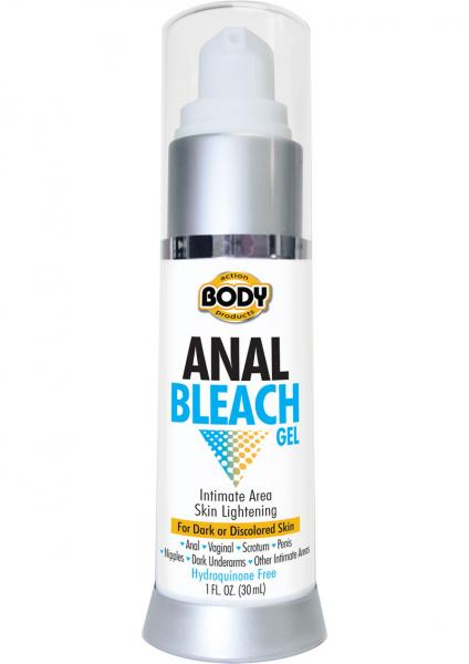 Anal Bleach Skin Lightening Gel 1 Ounce Bottle