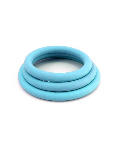 M2M Nitrile C Ring Set Pack of 3 - Blue