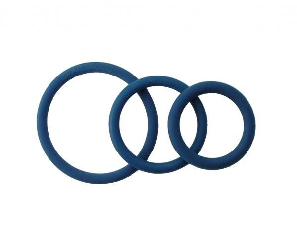 Rubber C Ring Set - Blue