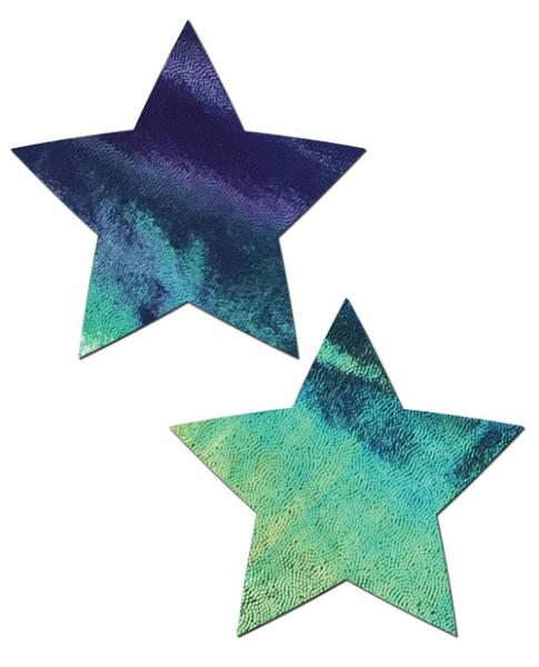 Pastease Black Opal Liquid Star Pasties O/S