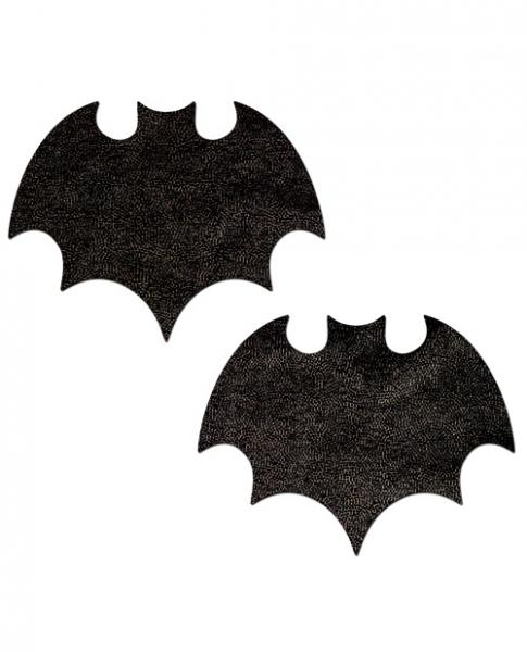 Pastease Bats Black Bat Pasties O/S