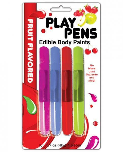 Play Pens Edible Body Paints