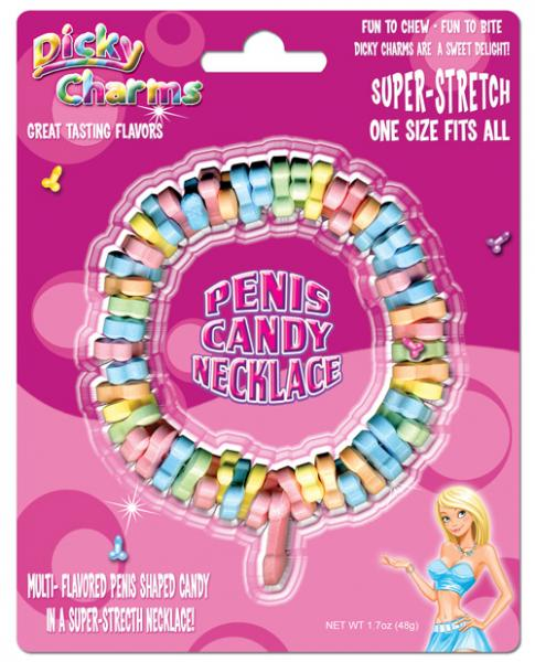 Dicky Charms Penis Candy Necklace
