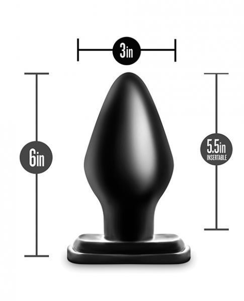 Anal Adventures XXL Plug Black