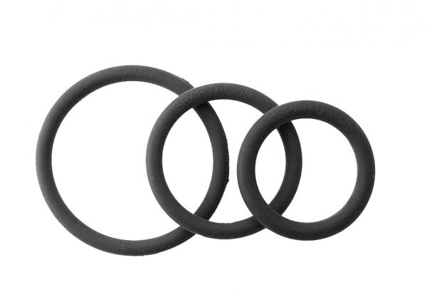 Rubber C Ring Set - Black
