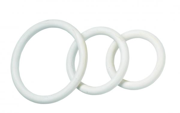 Nitrile C Ring Set - White