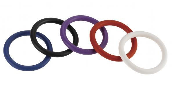 Rainbow Nitrile C Ring 5 Pack 1.5 inches