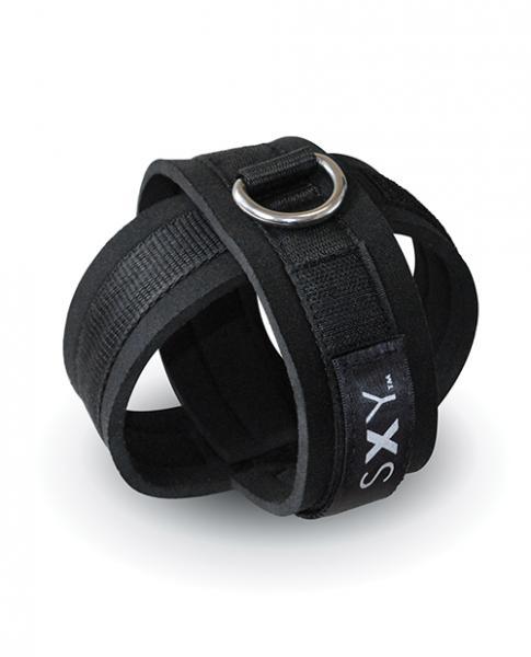 Sxy Cuffs Perfectly Bound Black