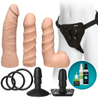 Vac-U-Lock Dual Density Starter Set - Vanilla Beige Sex Toy Product