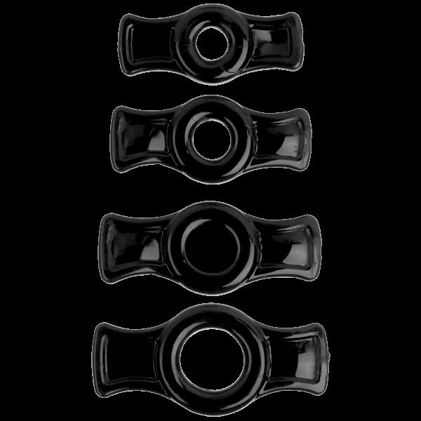 Titanmen Tools C Ring Set - Black