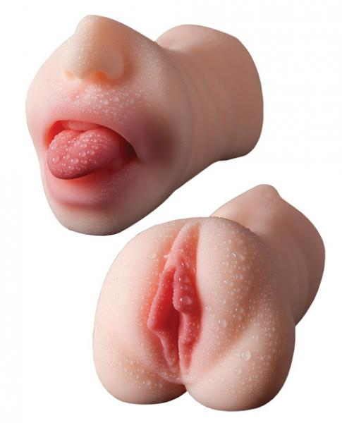 Pussy and mouth sex toy
