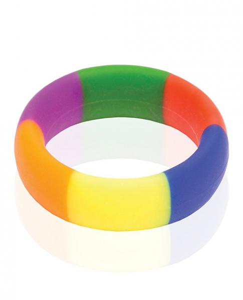 Pride 365 Rainbow Cock Ring