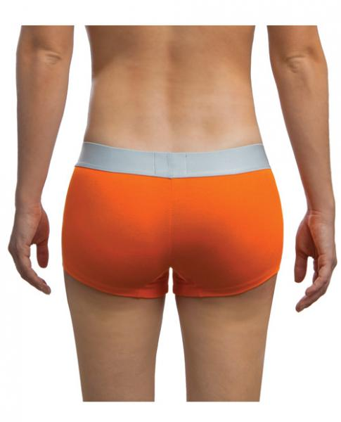 Jack Adams Women's Lux Modal Boyshorts Orange XL