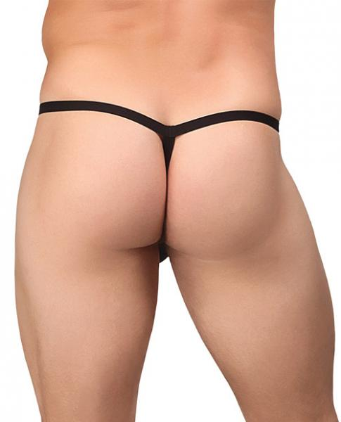 Extreme Perk U Later G-String Black O/S