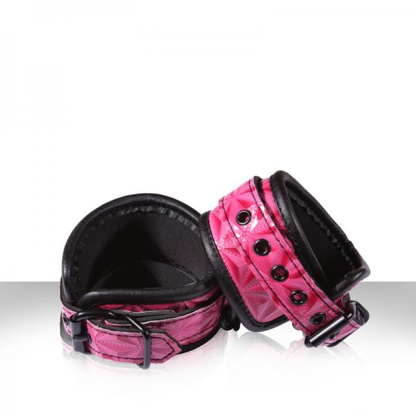 Sinful Wrist Cuffs Pink Sex Toy Product