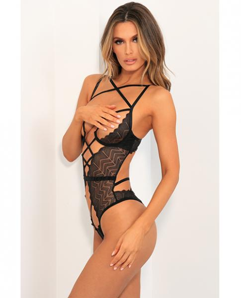 Rene Rofe Exquisite Restriction Teddy Black M/L